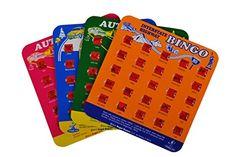 Travel Bingo - Set of 4 Bingo Boards Regal Games http://www.amazon.com/dp/B00BJOG0LE/ref=cm_sw_r_pi_dp_IB2Zvb0ZYREN8