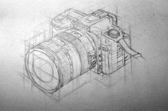 isometric Nikon.  by ~berthalaban      Pure Awesomeness.