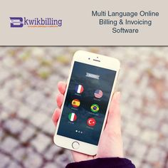#KwikBilling - Multi #language Online #Billing  & #Invoicing Software - https://goo.gl/JvsBDl