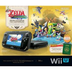 Nintendo Wii U - Limited Edition Legend of Zelda Windwaker HD Deluxe Bundle (32GB) by Nintendo, http://www.amazon.com/dp/B00EV4O8VS/ref=cm_sw_r_pi_dp_ibtisb1NP8D1Q