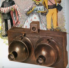 Among the earliest all-metal cameras, the Stereo Photosphere is the most rare and valuable of all Photosphere cameras dating back to the late 1800s. It has two separate lenses with individual image sensors to simulate human binocular vision, making the resulting photos look three-dimensional.