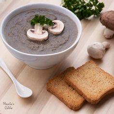 Supa crema de ciuperci / Cream of mushroom soup - Madeline's Cuisine