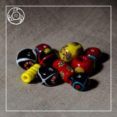 Koraliki historyczne : Kram Stjepana Glass Beads, Medieval, Mid Century, Middle Ages