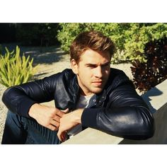 Matthew Kristall Captures Liam Hemsworth for InStyle Magazine ❤ liked on Polyvore