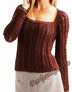 Пуловер (ж) 12*20 Cheval Blanc №4661