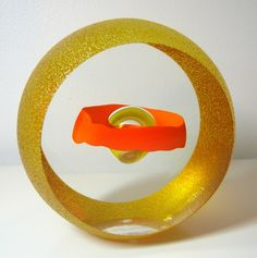 'Floatation' Art-Glass Sculpture by Pavel Havelka avail from 'AHeartofGlass'♥≻★≺♥