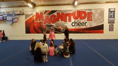 http://www.MagnitudeCheer.com (818) 280-8044  Experience our first-rate classes, divided by ability to increase your child's physical development, with an emphasis on fitness and fun.  Classes for ages 2 1/2 to adult!  Gain confidence, increase mental and physical strength, teach respect for self and others, and instill integrity while developing well-rounded individuals.  Tumbling classes, cheer classes, All-Star teams, private lessons, birthday parties, and more available.  Call t...