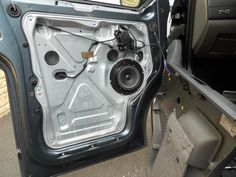 Front speaker replacement, with pics... - VW T4 Forum - VW T5 Forum