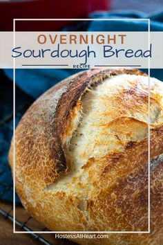 Low Carb Recipes To The Prism Weight Reduction Program Overnight Sourdough Bread Recipe Is A Great Basic Recipe To Make If You Are Just Getting Started Baking Sourdough Bread Or Have Been At It For Years. Overnight Sourdough Bread Recipe, Easy Sourdough Bread Recipe, Dough Starter Recipe, Starter Recipes, Pain Au Levain, Artisan Bread Recipes, Bread Starter, Basic Recipe, Bread Cake