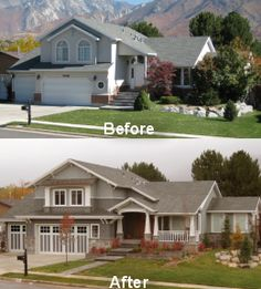 Facelifts for Homes website:  Such great before/after photos!