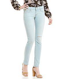 Levis 524 Skinny Jeans #Dillards