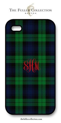 Black Watch Tartan iphone Cover – The Fuller Collection
