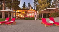 Martis Camp now has ammenities on Lake Tahoe - Martis Camp Lake Tahoe Shack