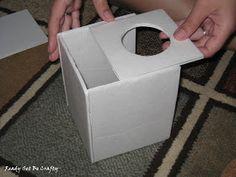 Ready Set Be Crafty: DIY Tissue Box Cover