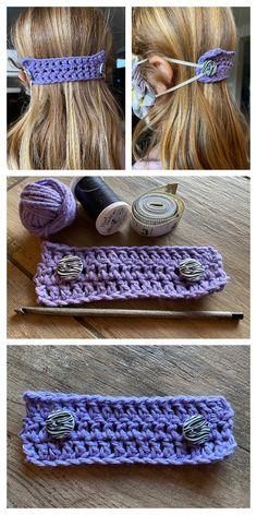 Quick Face Mask Mates Free Crochet Patterns – DIY Magazine - New ideas Crochet Mask, Crochet Diy, Crochet Faces, Crochet Collar, Crochet Gifts, Crochet Stitches Patterns, Crochet Designs, Stitch Patterns, Yarn Projects