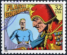 US Stamp 1995 - Comic Strip Classics Flash Gordon