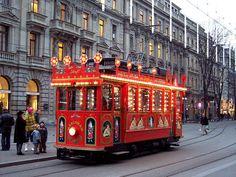 Zurich Maerlitram Paradeplatz - Strassenbahn Zürich – Wikipedia