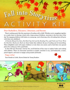 Fall into Storytime Activity Kit (featuring A PERFECTLY MESSED-UP STORY, RED KNIT CAP GIRL AND THE READING TREE and VIOLET & VICTOR WRITE THE BEST-EVER BOOKWORM BOOK)
