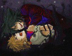 -Kingdom Hearts- -Ventus & Vanitas Bro he's like straggling him but my mind thinks rape