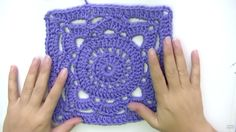 How to Crochet Willow Square Easy Stitch Tutorial - Free Pattern / Chart