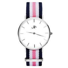 Queen's Park - Silver Timepiece with NATO Strap – Joseph Nogucci
