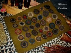 DIY Penny Rugs – How to make these old fashioned beauties