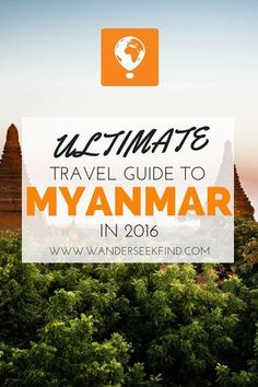 Looking for the best travel guide to Myanmar (Burma) for Check this out for your essential hotspots and tips to this amazing land! Travel Goals, Travel Advice, Travel Tips, Travel Destinations, Myanmar Travel, Asia Travel, Thailand Travel, Mandalay, Bagan