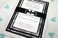 Batman Black and White Marvel/DC Comic Book by IMetHimOnASunday