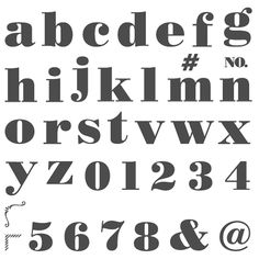 Larger Than Life Alphabet & Numbers Photopolymer Stamp Set by Stampin' Up!