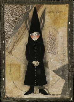 "Saatchi Art Artist Irene Raspollini; Painting, ""Somaro chi legge - He who read is a stupid"" #art"