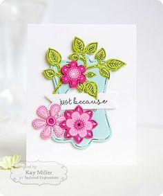 Die cuts with added line details