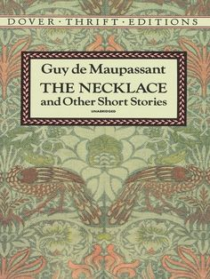 How is the lottery by shirley jackson related to the piece of string by guy de maupassant?
