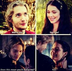 Frary moments in Reign