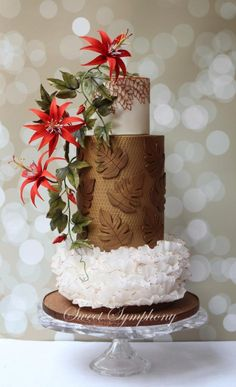 Cake for the Modern Bride ( Featured in ACD Nov/Dec issue) by Sweet Symphony