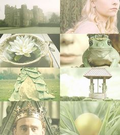 Fairy Tale Picspam → The Frog Prince