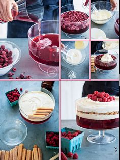 Donna Hay White Chocolate And Raspberry Trifle Cake