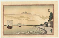 View of Takanawa by Shinsai (circa 1764 - 1820)