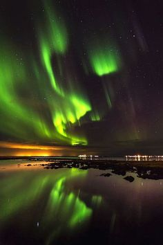 Aurora Borealis or Northern Lights, Iceland Photo by Arctic-Images on Getty Images