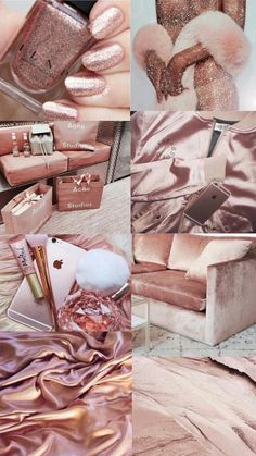 Cute wallpapers, pink and gold, purple, rose gold theme, rose gold aestheti Mode Collage, Aesthetic Collage, Aesthetic Pastel Wallpaper, Aesthetic Wallpapers, Rose Gold Aesthetic, Makeup Aesthetic, Gold Everything, Accessoires Iphone, Shopping Hacks