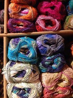 Pretty Noro sock yarn from Spin A Yarn