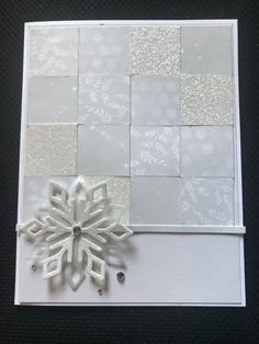 Challenge Cards, Dares, Card Making, Scrapbook, Snow, Homemade, Create, Color, Colour