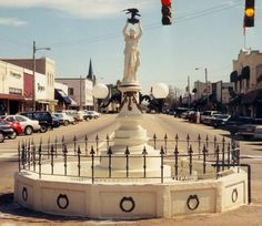 Enterprise, Alabama (Coffee County) - Boll Weevil Monument. The only national monument dedicated to an insect.