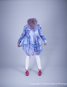 Silk Blouse by Louise Rawlins. Dublin, Townhouse, Harajuku, Centre, Ireland, Irish, Silk, Blouse, Fashion