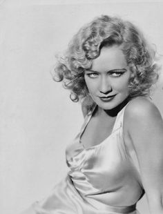 Miriam Hopkins, one of my all-time Hollywood favs. Check out Trouble in Paradise, a pre-code classic.