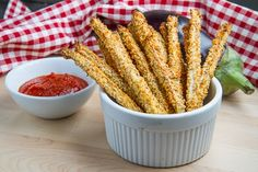 Crispy Baked Eggplant Fries