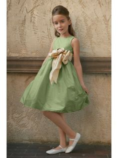 233f1c228d2 Shantung Sleeveless square Neckline Tea-Length Flower Gril Dress Gowns For  Girls
