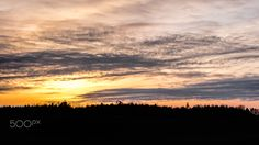 Winter Sunset - Handheld shot of this sunset using a Fuji XT1 and a Fujinion 10-24mm Lens.