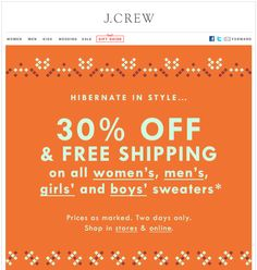 jcrew's emails are always cute