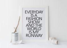 Coco Chanel quote,COCO CHANEL QUOTE prints,printable art,bedroom decor,bedroom print,bedroom art,print,prints and quotes,home decor,wall art von sweetandhoneyprints auf Etsy