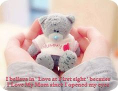 i love you mommy:-)